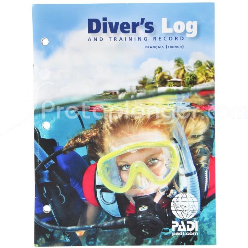 Logbook et passeport de plongée PADI Divers Log
