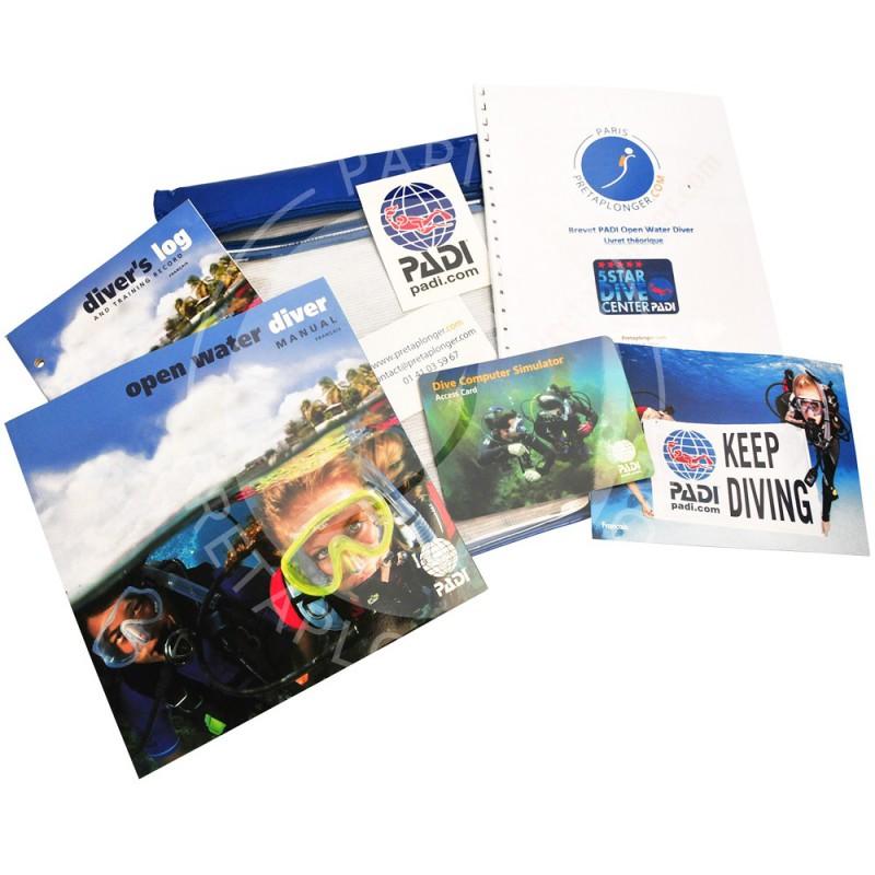 Crewpack PADI Open Water Diver acompte Pretaplonger.com