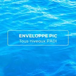 Enveloppe PIC PADI