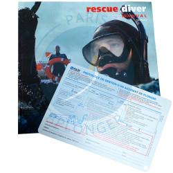PADI Rescue Diver - Manuel du cours.