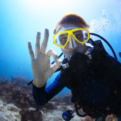 PADI Advanced Diver - En fosse de plongée.