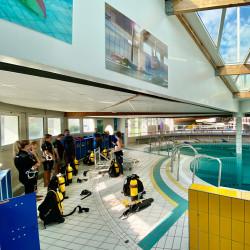PADI Rescue Diver - En fosse de plongée.