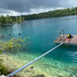 Plongées exploration - En lac 40 mn de Paris.